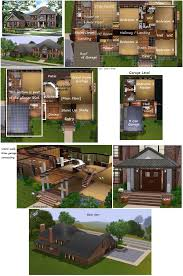 plantation home floor plans sims 3 plantation house 82126 unfurnished by pinkythepink on