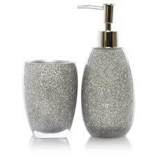 Black And Silver Bathroom Ideas by Glitter Bathroom Sets Bathroom Decor