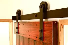 Barn Door Railing by How To Make Barn Door Hardware Free Sliding Barn Door Hardware