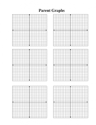 Graphing Functions Worksheet Math Coordinate Axis On Graph Paper Origin Stock Vector