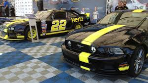 Yellow Mustang With Black Stripes Hertz Brings Back Its Fast Mustang But Do Not Take It Racing