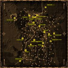 Fallout 3 Map by Fallout New Vegas Merchants Fallout Wiki Fandom Powered By Wikia
