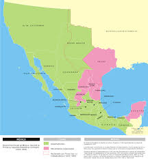 Map Of Mexico With States by Mexican U2013american War Simple English Wikipedia The Free Encyclopedia