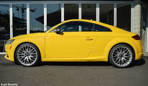 audi dealership cars tts vegas yellow audi seattle seattle wa audiseattle com