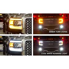 led lights for 2014 gmc sierra diode dynamics dd2011 gmc sierra daytime running light switchback