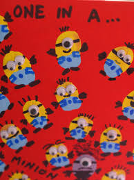 minion wrapping paper fingerprint minion card here come the