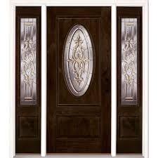 Modern Fiberglass Doors Front Doors Home Depot