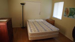 housing hastings natural history reservation two bedrooms one with two bunk beds and one with a queen size bed