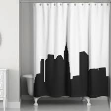 Shower Curtains Bed Bath And Beyond Buy City Shower Curtain From Bed Bath U0026 Beyond