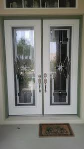 exterior glass door inserts odl mohave decorative door glass inserts in fiberglass exterior