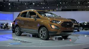 suv ford ford ecosport brings more cute than u0027ute to subcompact suv segment
