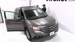 installation of a yakima q tower roof rack on a 2012 honda cr v