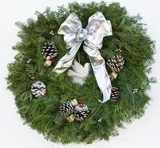 live christmas wreaths live 26 silvery winter fancy designer christmas wreath plants