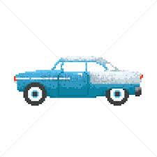 pixel art car pixel art vintage car vector image 1987344 stockunlimited
