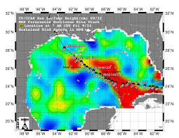 Mexico Precipitation Map by Nasa Hurricane Season 2005 Rita