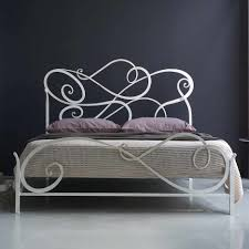 bed frames metal headboard and footboard queen antique iron beds