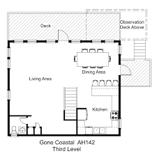 coastal floor plans oceanside vacation rental gone coastal