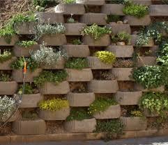 decorative retaining wall garden and backyard retaining walls