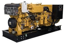 toromont cat c18 acert marine generator set engine tier 2
