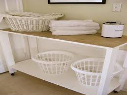Laundry Room Table For Folding Clothes Great Laundry Room Folding Table Change Bi Fold Doors To