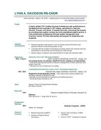 registered nurse resume template registered nurse resume template