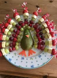 pavo de frutas thanksgiving essen und trinken