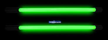 2 neon green 10 inch bright 12 volt car light glow bars pair