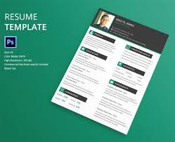 resume design templates downloadable eye catching resume templates 4 3 template with a simple color