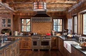 rustic kitchen ideas pictures kitchen magnificent rustic kitchen interior with a decor rustic