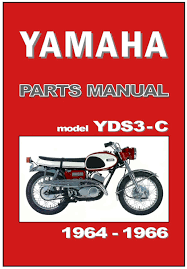 yamaha parts manual yds3 yds3c yds3 c 1964 1965 1966 spares