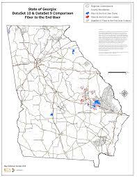 State Map Of Georgia by Map Gallery Georgia Broadband