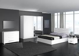 design de chambre à coucher chambre a coucher grise et blanche