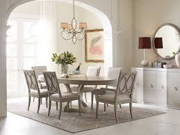 rachel ray home cinema 7pc oval dining room set in shadow grey by