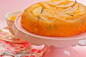 pear u0026 vanilla upside down cake delicious everyday