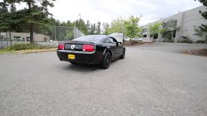 2006 ford mustang gt black clearcoat 65134094 redmond