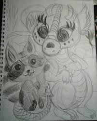 baby dragon art contest artist christen mccreavy baby dragon