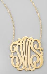 Monogram Pendant Necklace With Initials Silver Washington State Pendant Necklace Pendants Cable And Chains