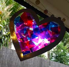 kids valentine craft u2013 stained glass hearts stay at home life