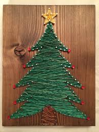 christmas tree string art order from kiwistrings on etsy www