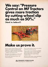 1967 ad massey ferguson des moines iowa tractor farming machine