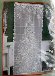 tree lighted lace curtain panel orientaltrading