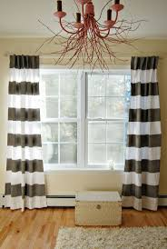 horizontal striped drapes business for curtains decoration