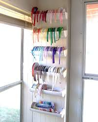 ribbon holders best 25 ribbon holders ideas on craft ribbon storage