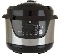 cooks essentials kitchenware kitchen food qvc com cook s essentials 2qt digital stainless steel pressure cooker k46039