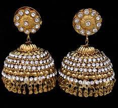 bengali earrings designer earrings polki earrings kundan earrings supplier in