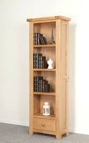 Small Bookcases With Glass Doors Bookcase Cotswold Rustic Light Oak Small Bookcase Oak Furniture