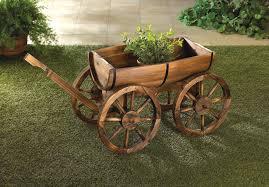 Apple Barrel Planter Wagon Wholesale at Koehler Home Decor