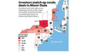 Miami Florida Zip Code Map by Locked Out Of Boom Buyers Hunt For New Housing Spots Miami