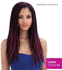 hair crochet freetress synthetic hair crochet braids senegalese twist large ebay