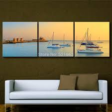 online get cheap ship oil paintings aliexpress com alibaba group art print oil painting ship at sea decoration painting home decor on canvas modern wall art